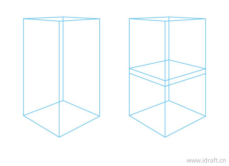 椅子透视结构图特写