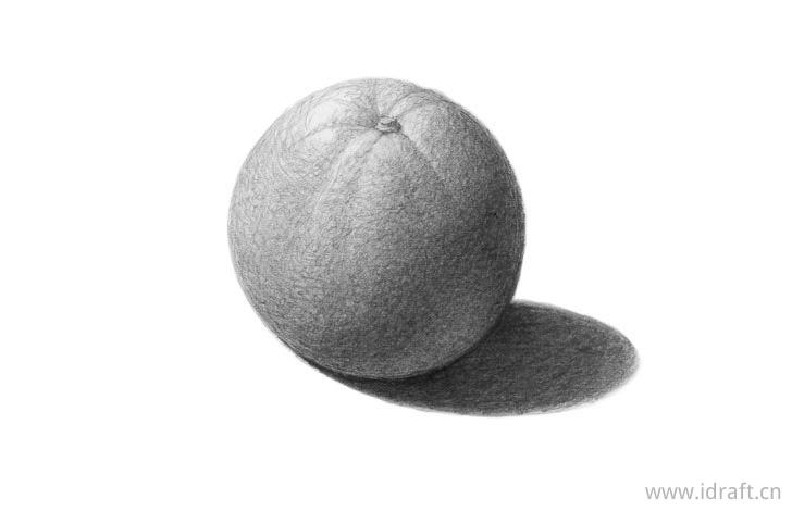 橙子的阴影画法