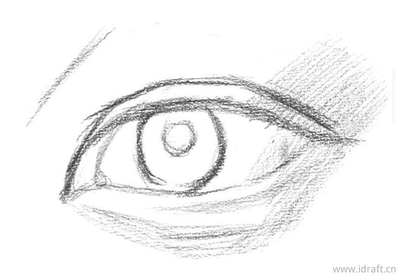 眼角与外眼角暗部色调