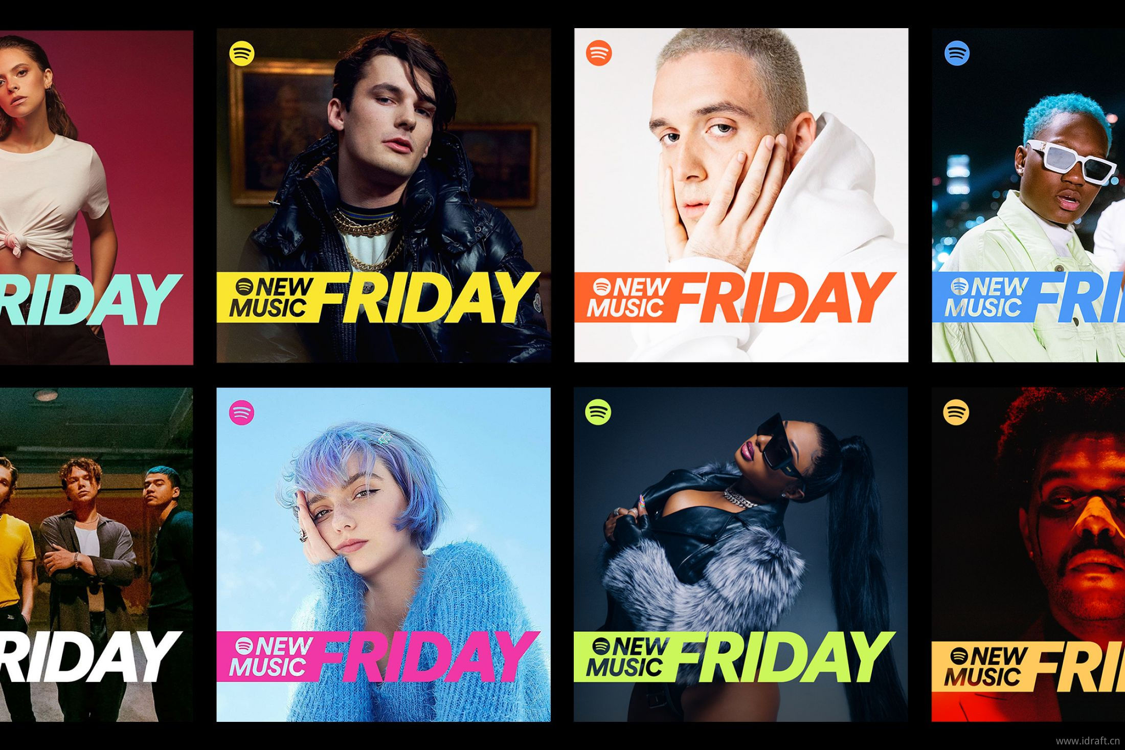 Spotify新音乐星期五New Music Friday