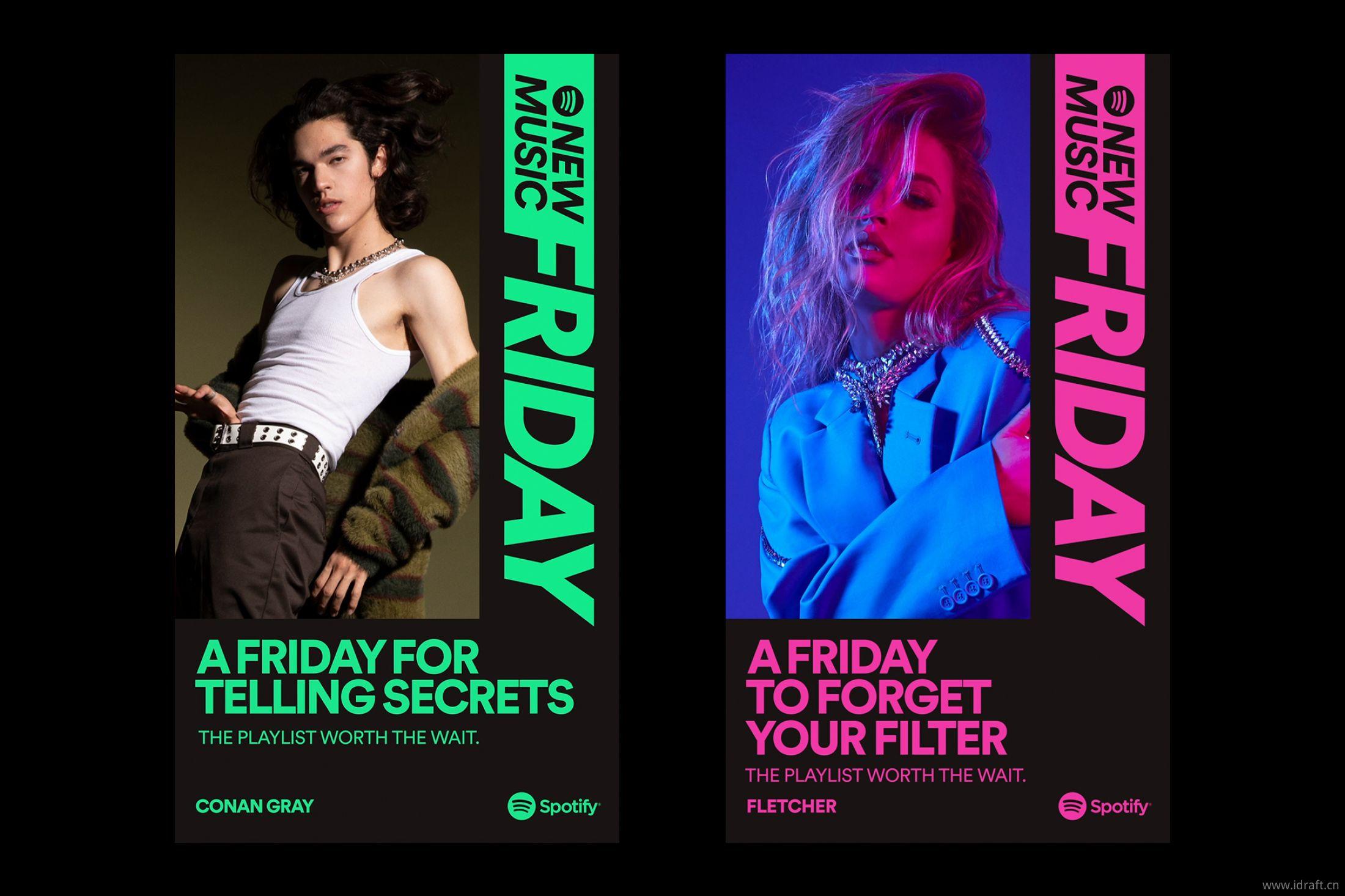 "Spotify在""新音乐星期五New Music Friday"""