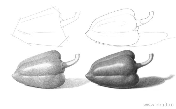 胡椒画法的步骤