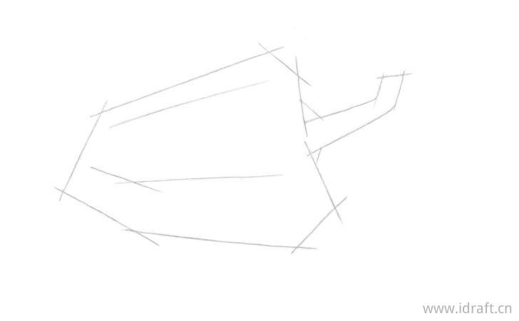 青椒的结构线