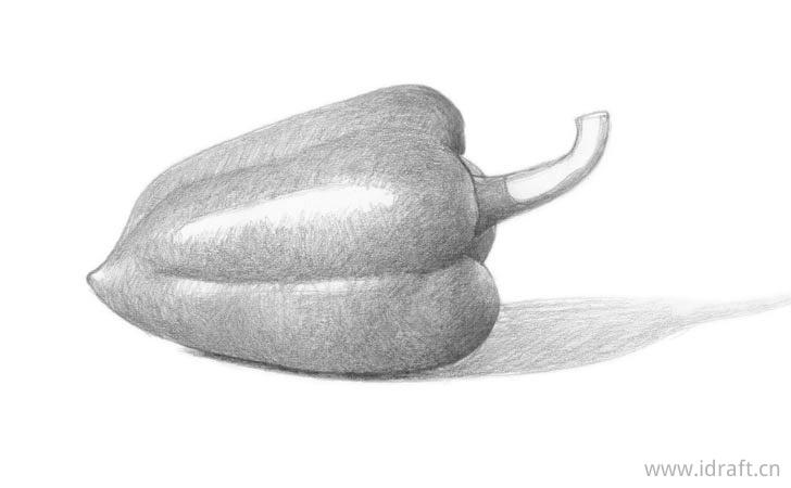 青椒的阴影图